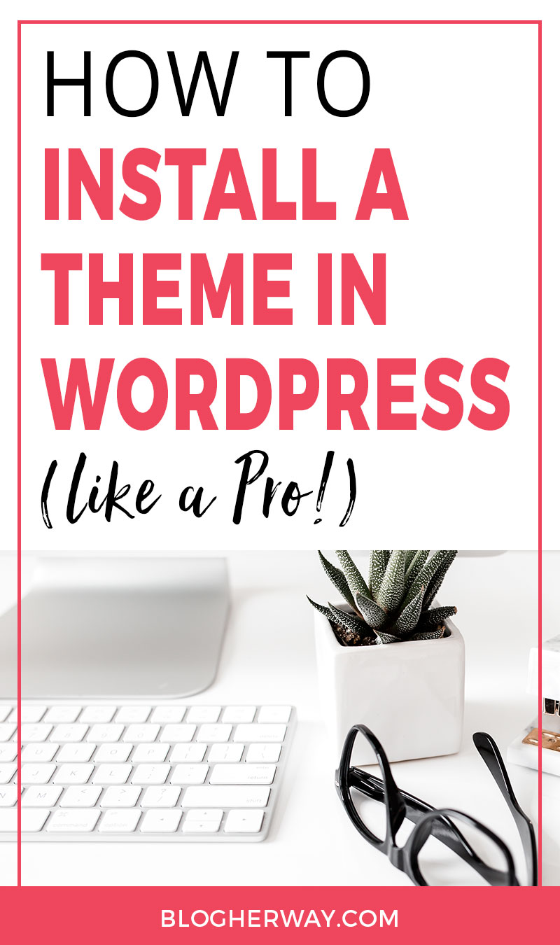 Ready to start a blog? Check out this tutorial on how to install a theme in WordPress. Choosing the right theme for you blog and business is essential. Make sure you choose a good theme that will help you grow your blog and business.