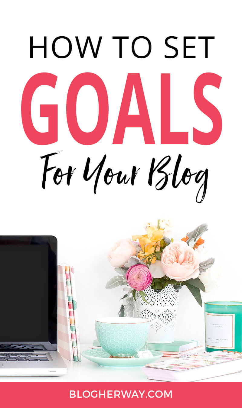 Learn how to set goals for your blog. Goals are a great way to give your blog direction.