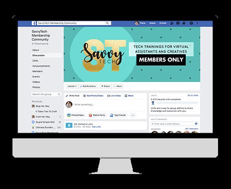 savvy tech training facebook group bonus