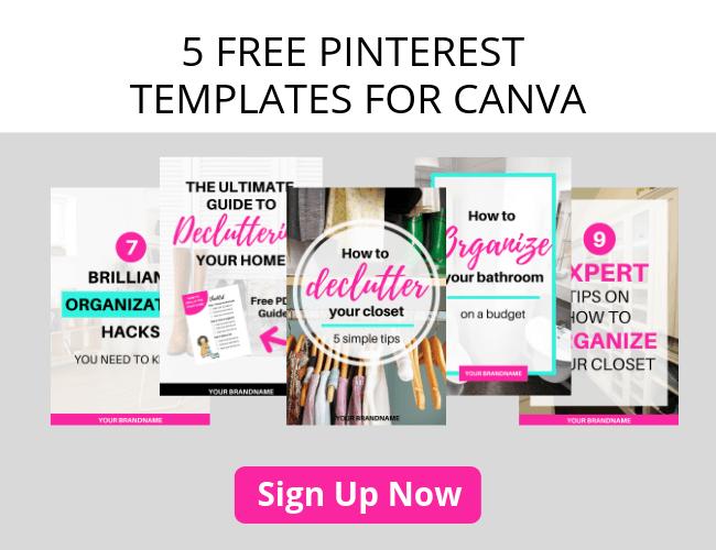 5 FREE Canva Pinterest Templates